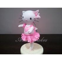 Adorno Para Torta Kitty Bailarina, P. Fria