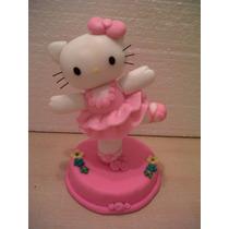 Kitty En Porcelana Fria.mde Unos 14 Cms De Altura