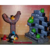 Angry Birds Adorno De Torta Porcelana Fria