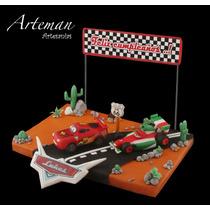 Cars, Rayo Mc Queen, Combo Francesco Adorno Torta