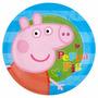 Lamina Comestible Personalizada Fototorta Peppa Pig George
