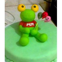 Sapo Pepe Centro De Torta Souvenirs