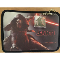 Cartuchera 2 Pisos Personalizada Star Wars Darth Vader Kylo