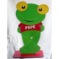 Sapo Pepe O Sapa Pepa Adorno Torta