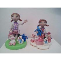 Adorno Para Torta En Porcelana Fría Dra.juguete