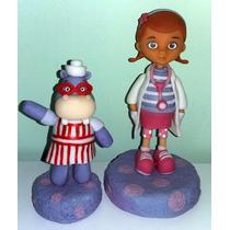Adorno Para Torta De La Dr,juguetes Y La Hipopotamo