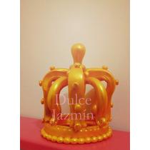 Corona Porcelana Fría Adorno Para Torta