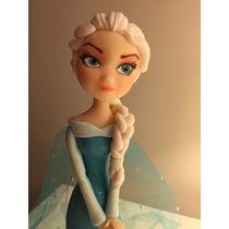 Adorno Para Torta Elsa Frozen, Hermosa !