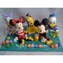 Adorno De Torta Mickey Y Amigos