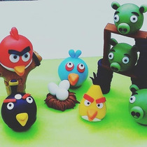 Angry Birds (porcelana Frìa)