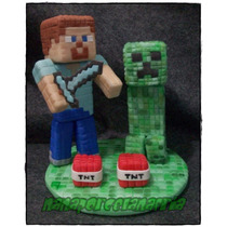 Adorno Para Torta Minecraft