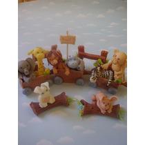 Adornos De Torta. Centros De Mesa. Animalitos Porcelana Fria