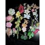 Lote Flores Bouquetes De Porcelana Fría P Tortas Centro Mesa