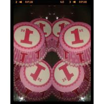 Pirotines Cupcake Primer Añito Wilton Importados Candy Bar