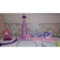 Bandejas Porta Cupcakes Y Adornos Para Tortas Violetta