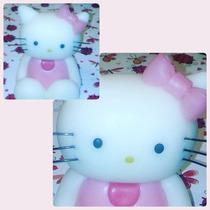 Kitty En Porcelana Fria Para Torta