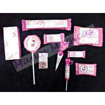Candy Bar Kitty Golosinas Personalizadas 10 Chicos