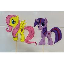 Mi Pequeño Pony Centros De Torta En Goma Eva