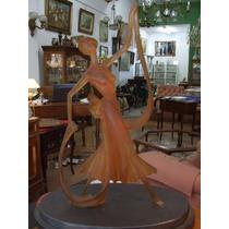 Figura Decorativa De Mujer Art Noveau