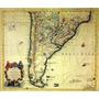 Impresion Mapas Planisferios Antiguos Regionales Satelitales