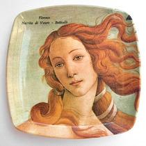 Retro - Platito De Melamina Mebel - Venus - Botticelli