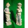 Dos Figuras De Porcelana Nenes
