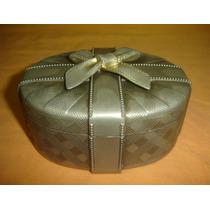 Joya Antiguo Cofre Alhajero Despojador Metal Plateado(0748x)