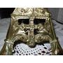 Antiguo Candelabro Religioso Bronce / Lampara