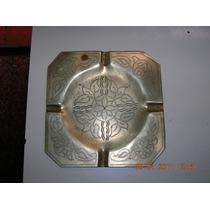 Antiguo Cenicero De Bronce Marroqui