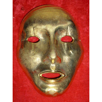 Mascaras De Bronce Macizo