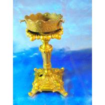 El Arcon Antiguo Cuerpo De Bronce P/ Velador Lampara 16055