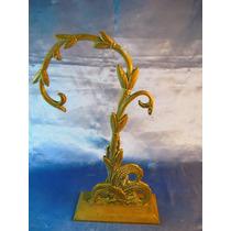 El Arcon Antigua Figura De Bronce C Base Luminaria 38065