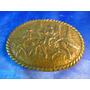 El Arcon Antigua Hebilla De Bronce Hombres Y Caballos 41071
