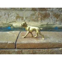 Escultura De Bronce De Perro Bulldog