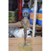 Figura De Bronce De Don Quijote Adorno Estatua Antigua
