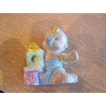 Miniatura De Bebe Adorno Torta Vitrina Regalo 5 X 4 Cm