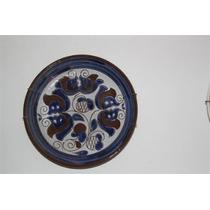 Plato Ceramica Bariloche 18 Cm Diámetro.+ De 5000 Vtas 100%+