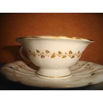 De Coleccion Hermosa Taza Y Plato En Porcelana Europea