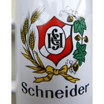 Antigua Jarra De Cerveza Schneider Publicidad