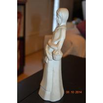 Estatuilla Adorno Vitrina Dama Embarazada Dia De La Madre