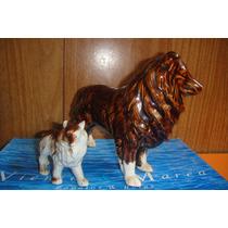 Perros De Ceramica Retro