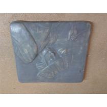 Placa Oriental De Ceramica Soldado