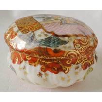 Antigua Bombonera Caramelera Alhajero Ceramica Japonesa