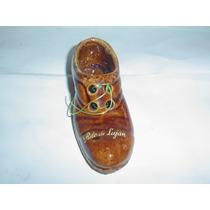 Zapato Recuerdo Lujan Zapatito Ceramica Adorno Calzado Retro