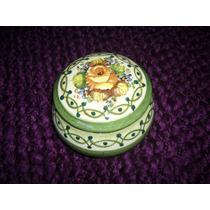 Alhajero Potiche En Ceramica Esmaltada