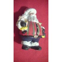 Muñeco De Santa Claus De Ceramica