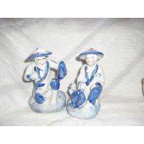 Estatuilla De Porcelana Policromada ( Por Unidad)