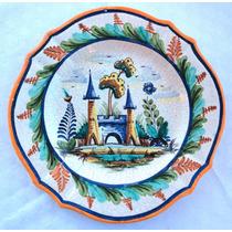 Monijor62- Plato Ceramica Talavera De Los