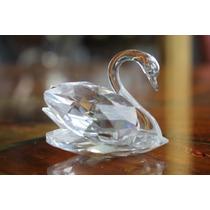 Figura Cisne De Cristal Tallado Swarovski. Original