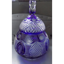 Potiche Caramelera De Cristal. Fundación Tzedaká